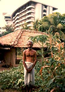 Mudiyanse Tennekoon at Cultural Survival's Samudra Cottage